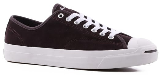 Converse Jack Purcell Pro Skate Shoes - black cherry/white/white - view large