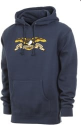 Anti-Hero Eagle Hoodie - slate blue