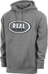 Real Oval Hoodie - athletic heather