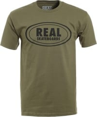 Real Oval T-Shirt - military green
