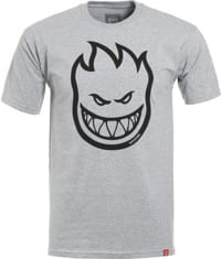 Spitfire Bighead T-Shirt - athletic heather/black print