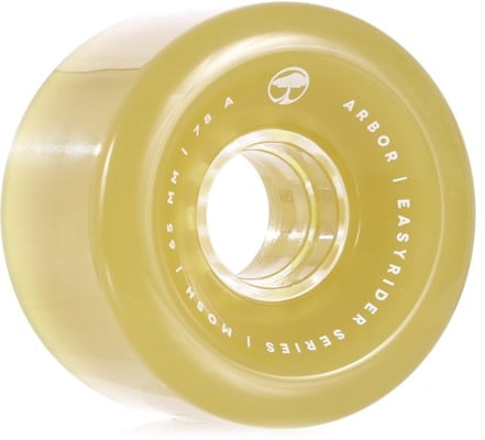 Arbor Mosh Easy Rider Series Longboard Wheels - ghost green (78a) - view large