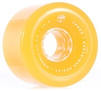 Arbor Mosh Easy Rider Series Longboard Wheels - ghost yellow (78a)