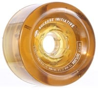 Arbor Outlook Easy Rider Series Longboard Wheels - amber (78a)