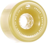 Arbor Outlook Easy Rider Series Longboard Wheels - ghost green (78a)