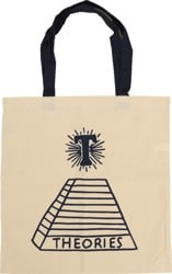 Theories Scribble Tote Bag - natural navy f348e875f83