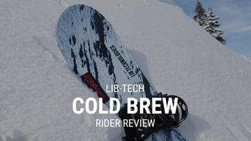 Lib Tech Cold Brew 2019 Snowboard Rider Review