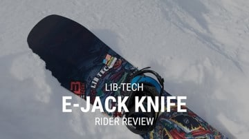 Lib Tech EJack Knife 2019 Snowboard Rider Review