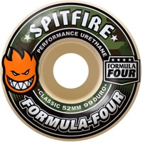 Spitfire Formula Four Classic Skateboard Wheels - covert (99d)