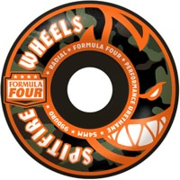 Spitfire Formula Four Radial Skateboard Wheels - covert black (99d)