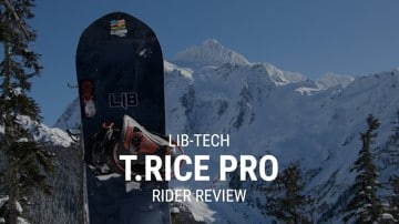 Lib Tech T.Rice Pro 2019 Snowboard Rider Review