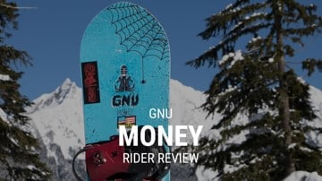 GNU Money 2019 Snowboard Rider Review