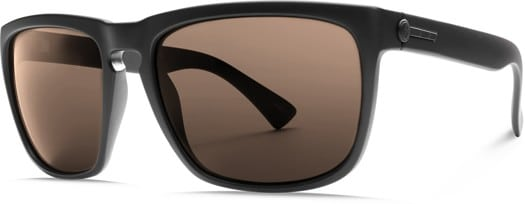 Electric Knoxville XL Polarized Sunglasses - matte black/ohm polar bronze lens - view large