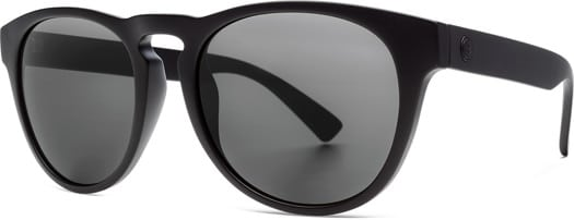 Electric Nashville XL Polarized Sunglasses - matte black/ohm polar grey lens - view large