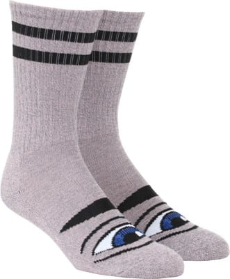 Toy Machine Sect Eye III Sock - heather pink - view large