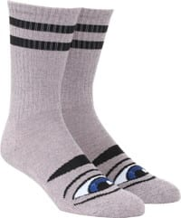 Toy Machine Sect Eye III Sock - heather pink