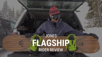 Jones Flagship 2019 Snowboard Rider Review