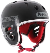 ProTec Full Cut Certified EPS Skate Helmet - gloss black