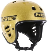 ProTec Full Cut Certified EPS Skate Helmet - gold flake
