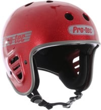 ProTec Full Cut Certified EPS Skate Helmet - red metal flake