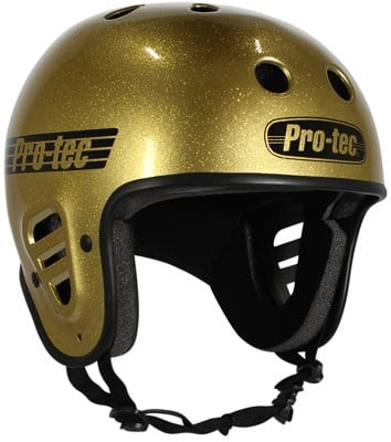 ProTec Full Cut Skate Helmet - gold flake - view large