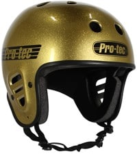 ProTec Full Cut Skate Helmet - gold flake