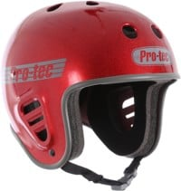 ProTec Full Cut Skate Helmet - red metal flake