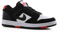 Nike SB Air Force II Skate Shoes - black/black-white-habanero red