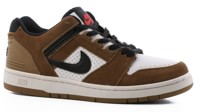 Nike SB Air Force II Skate Shoes - lichen brown/black-white-phantom