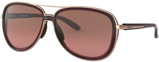 Oakley Split Time Sunglasses - crystal raspberry-rose gold/g40 black gradient lens - view large