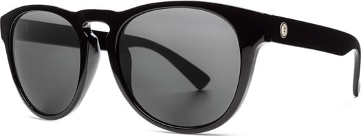 Electric Nashville XL Polarized Sunglasses - gloss black/ohm polar grey lens - view large