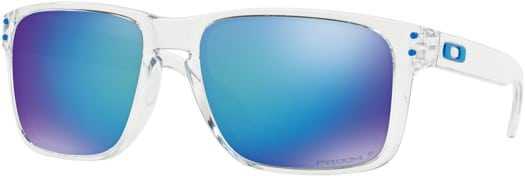 Oakley Holbrook XL Polarized Sunglasses - polished clear/prizm sapphire polarized lens - view large