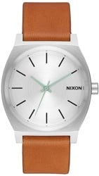 Nixon Time Teller Watch - silver/tan