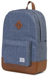 Herschel Supply Heritage Backpack - dark chambray/crosshatch/tan