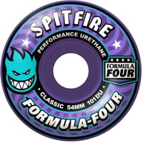 Spitfire Formula Four Classic Skateboard Wheels - purple (101d)