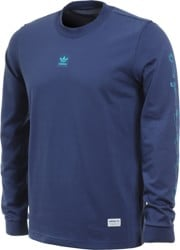 Adidas Mesh Long Sleeve Jersey - noble indigo