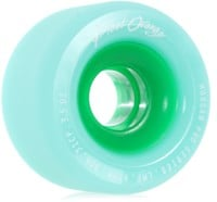 Blood Orange Morgan Pro Longboard Wheels - seafoam/green core (80a)