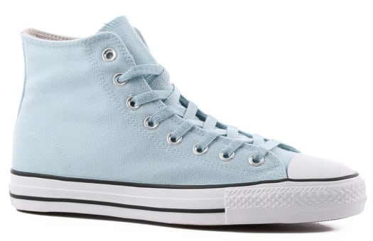 Converse Chuck Taylor All Star Pro High Skate Shoes - ocean bliss/driftwood/black - view large
