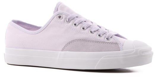 Converse Jack Purcell Pro Skate Shoes - barely grape/barely grape/white - view large