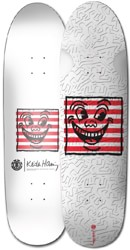 Element Keith Haring 1987 8.3 Skateboard Deck - white