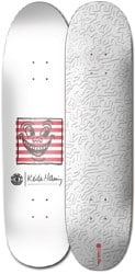 Element Keith Haring 2018 8.25 Skateboard Deck - white