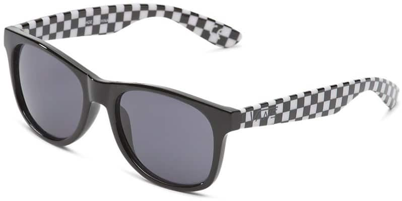 Vans Spicoli 4 Shades Sunglasses - black/checkerboard - view large