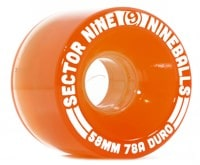 Sector 9 58mm Nineballs Longboard Wheels - light brown (78a)