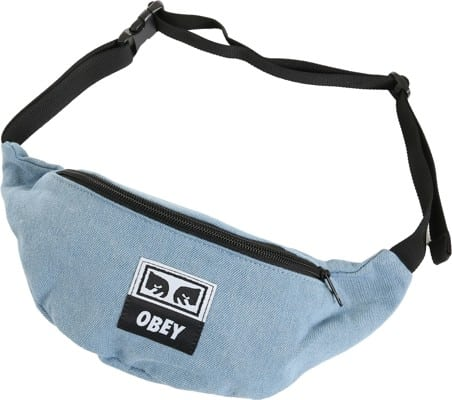 Obey Wasted Hip Bag - denim - view large