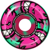 Spitfire Formula Four Conical Full Skateboard Wheels - pink/teal afterburners (99d)