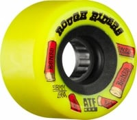 Bones ATF Rough Riders Skateboard Wheels - shotgun yellow (80a)