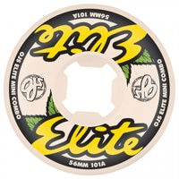 OJ Elites Mini Combo Skateboard Wheels - white/yellow (101a)