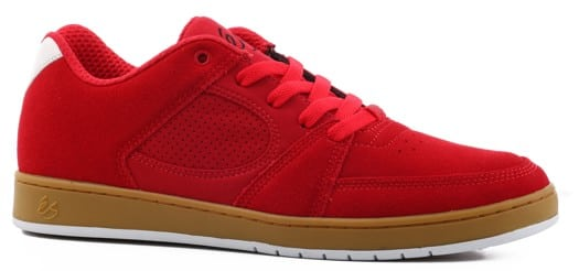 eS Accel Slim Skate Shoes - red/gum - view large