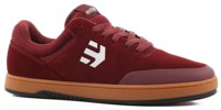 Etnies Marana Michelin Skate Shoes - burgundy/tan/white