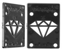 Diamond Supply Co Rise & Shine Riser Pads - black